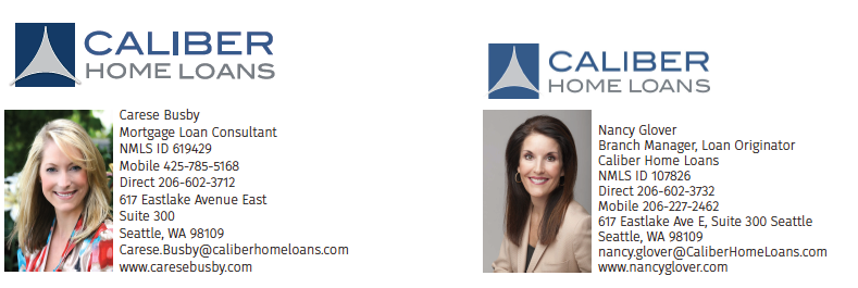 Carese Busby & Nancy Glover of Caliber Home Loans