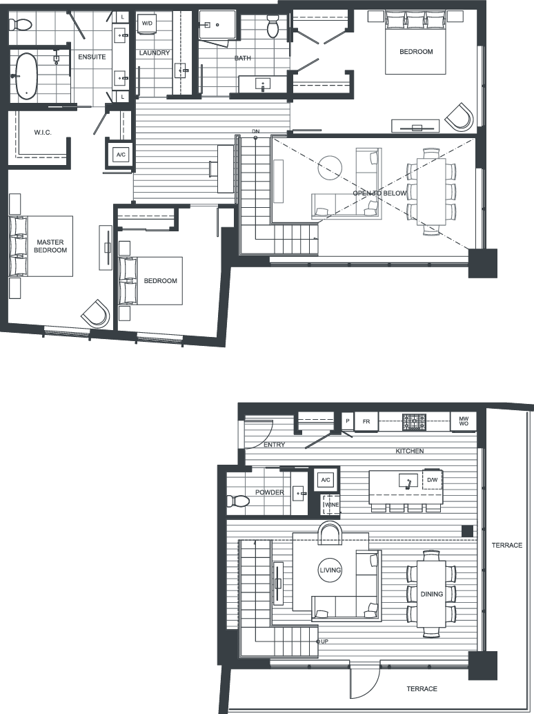 NEXUS Unit 2811 Floorplan