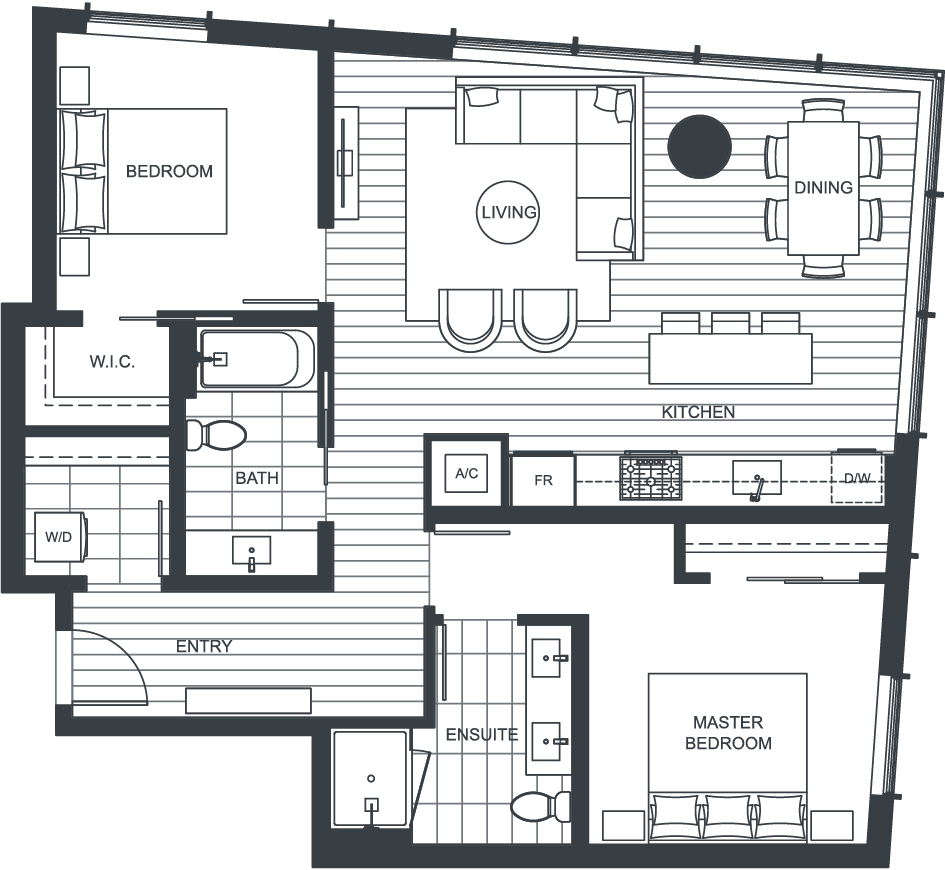 NEXUS Unit 2908 Floorplan