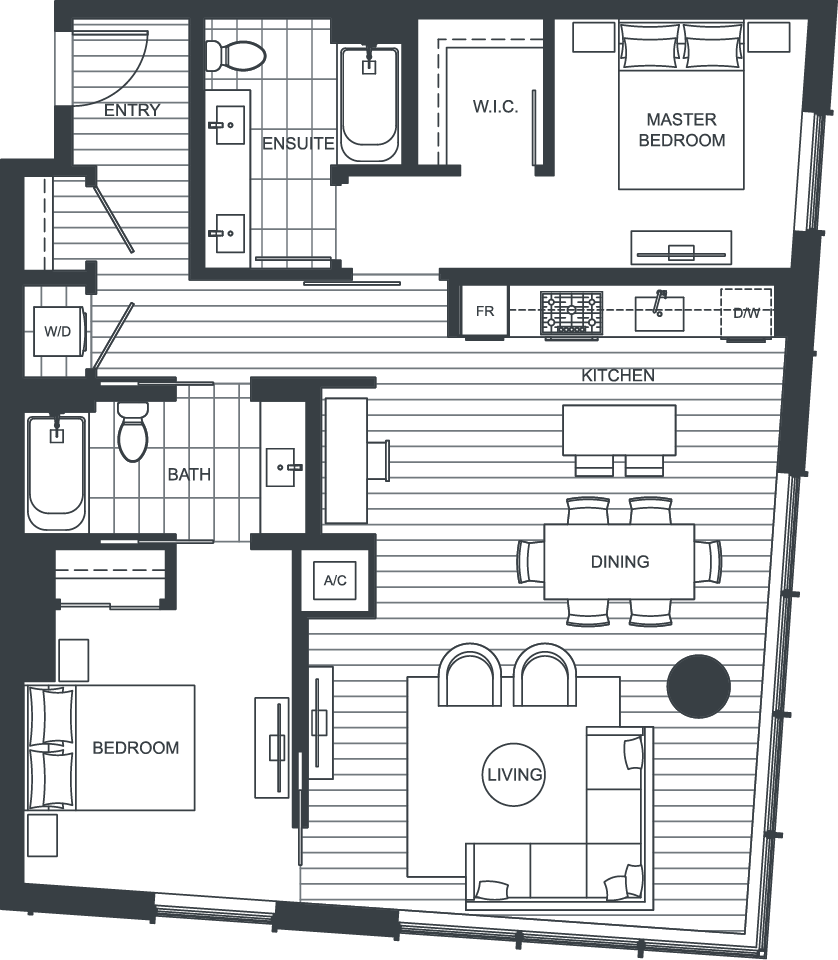 NEXUS Unit 3111 Floorplan